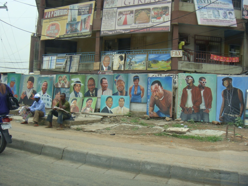 Street Art, Ikeja, Lagos Nigeria!
