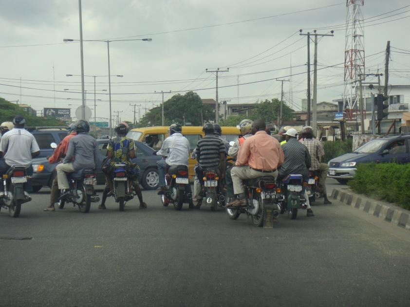 Okada (Bike) - Alternate Transport, Lagos Nigeria!