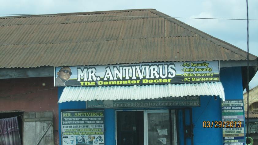 Mr Antivirus - The Computer Doctor!